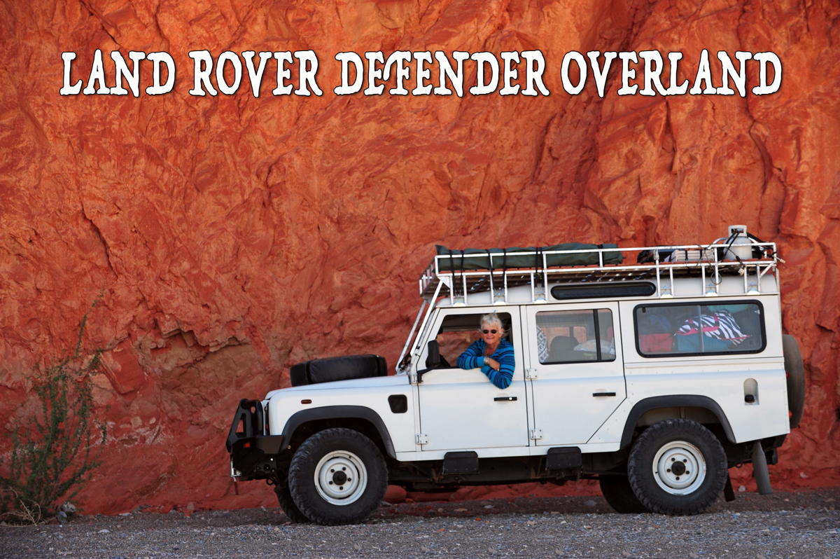 LAND ROVER DEFENDER OVERLAND - Positive Thinking Doctor - David J. Abbott M.D.