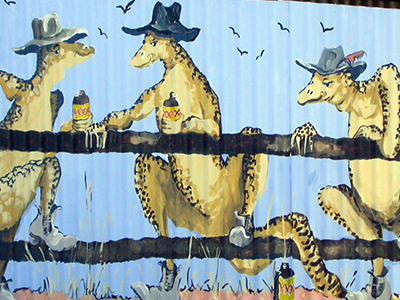 Ozzie outback murals